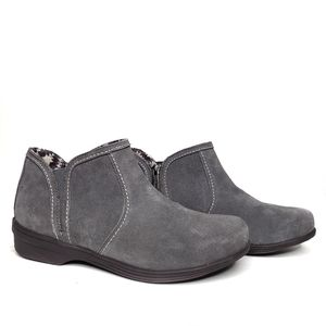 REVITALIGN Monrovia Gray Ankle Boots